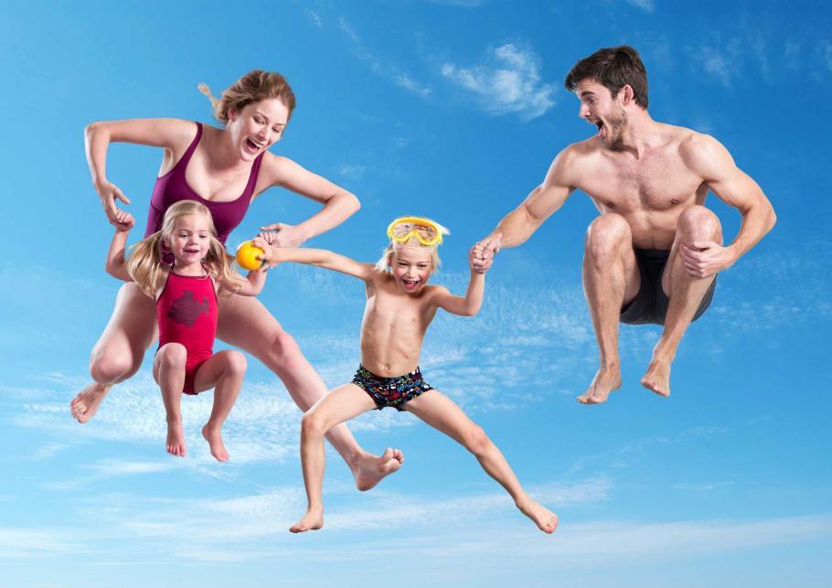 LAGO-zwemparadijzen, ledenvoordeel, zwemmen gezinsbond